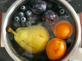 ocet jabłkowy i soda usunie pestycydy z owoców