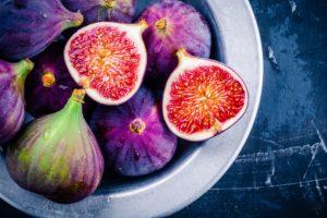 Magnez - w 1/2 szklanki fig jest 50 miligramów