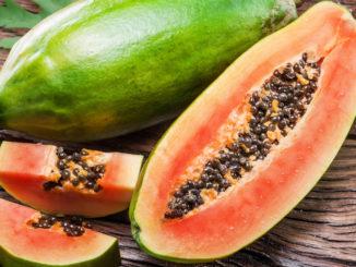 papaja lista korzyści, enzym papaina